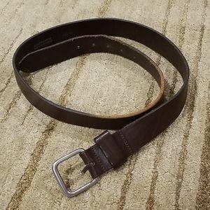 J. Crew brown genuine leather belt